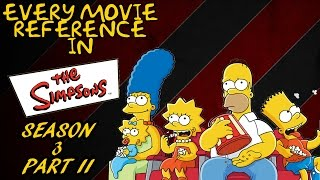 Every Movie Reference in The Simpsons (Season 3) Part II