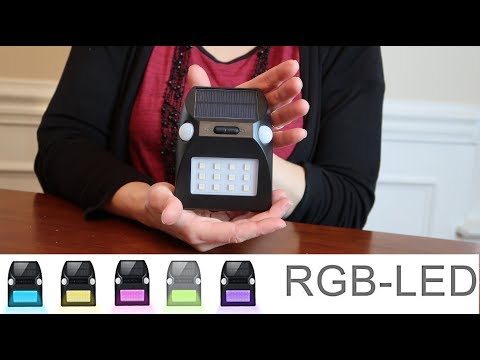 💥BeNature SOLAR LIGHT RBGW COLOR CHANGING (PARTIES!) ⭐ MOTION SENSOR  (GIVEAWAY!) 👈