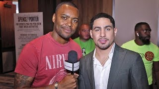 DANNY GARCIA: Anthony Joshua is INSECURE FIGHTER! Andy Ruiz BEATS HIM AGAIN!