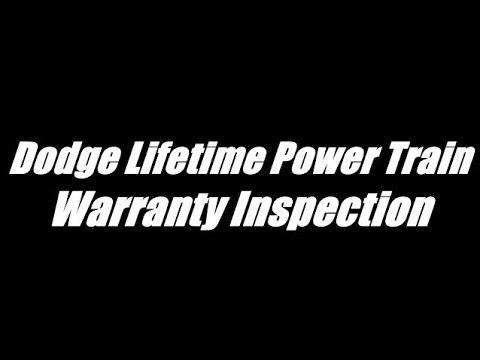 Dodge Life Time Power Train Warranty Inspection on Orange Krush :)