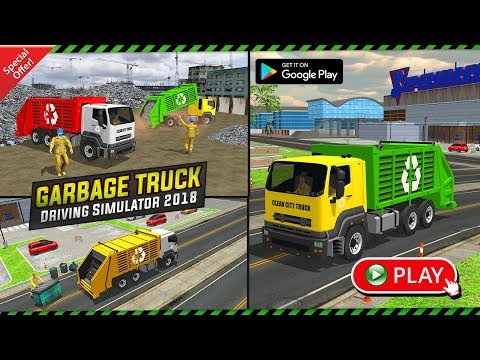 Garbage Truck: Trash Cleaner Driving Game: HD Android Gameplay