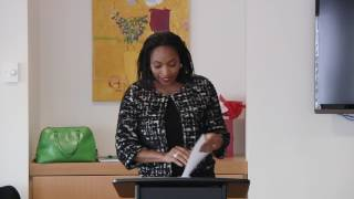 """2017 OPUTA Lecture """"The Road to Sustainable Change""""   Dr. Jumoke Oduwole (Jan 27, 2017) Mp3"""