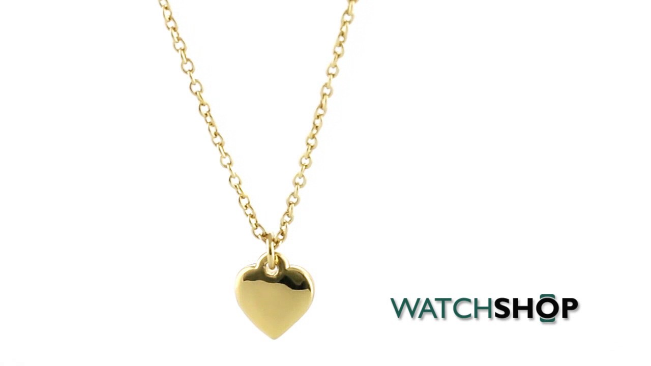 Ted baker jewellery ladies pvd gold plated hara tiny heart pendant ted baker jewellery ladies pvd gold plated hara tiny heart pendant necklace tbj1145 02 03 mozeypictures Images