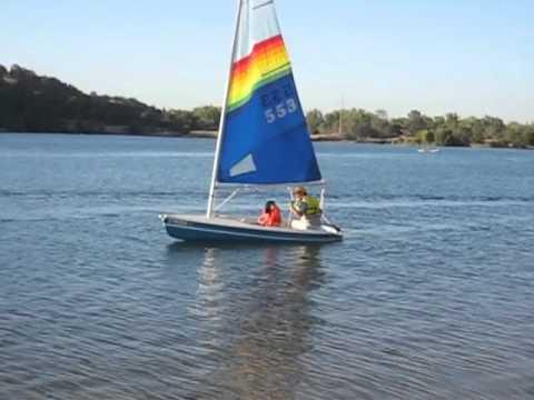 Lake Sailing: Holder 12 on Lake Natoma (200708xxLakeNatoma2)