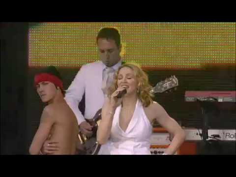 madonna : ray of light : live 8 londres uk : 2005 :