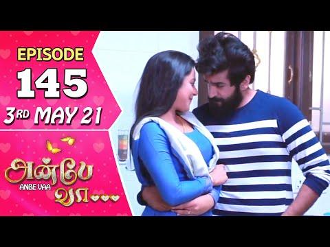 Anbe Vaa Serial | Episode 145 | 3rd May 2021 | Virat | Delna Davis | Saregama TV Shows Tamil