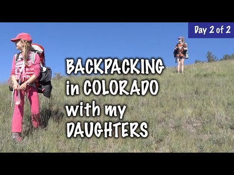 Mom & Daughters Backpacking, Finding The Trail - Day 2 of 2 - Our Journey :: Episode #92
