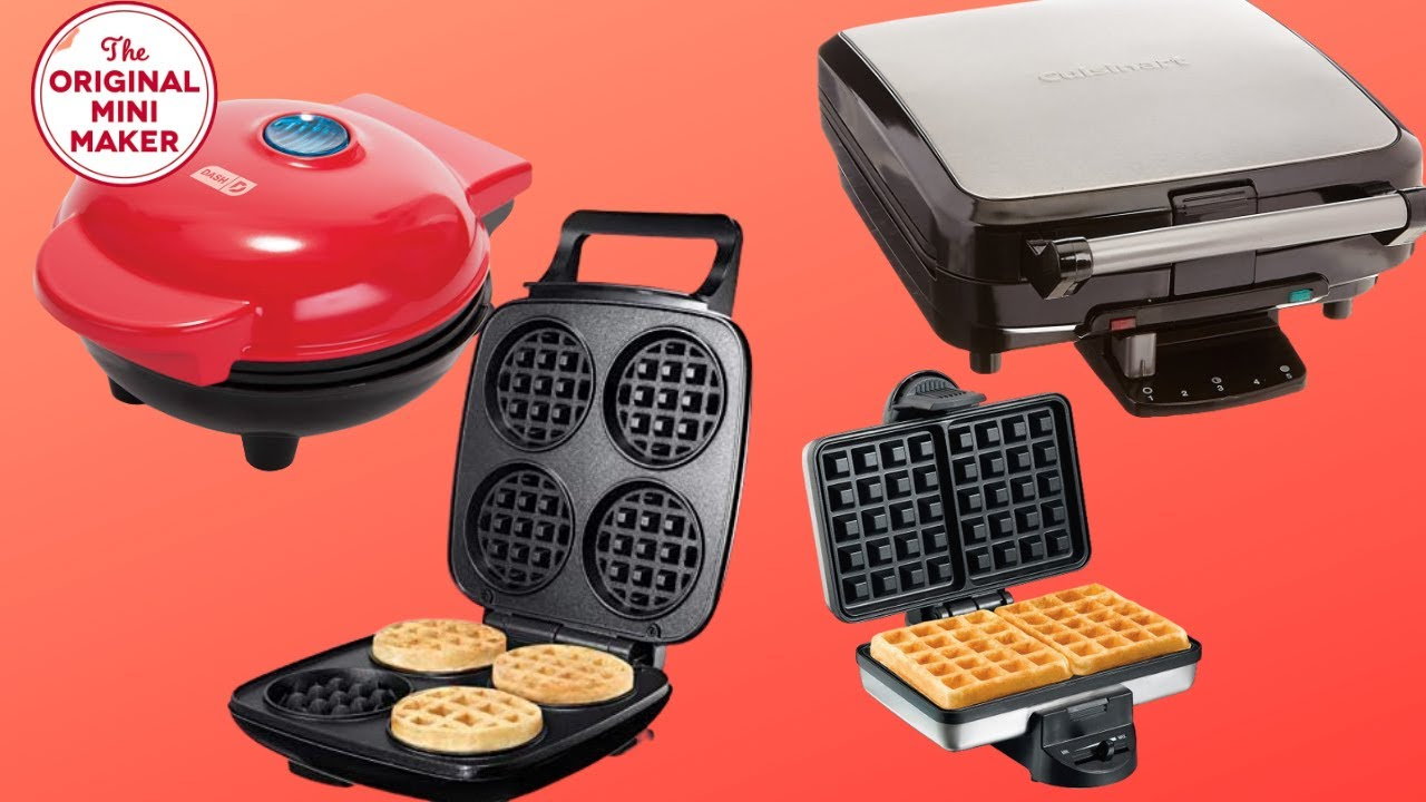 Top 4 Waffle Maker Reviews 2020