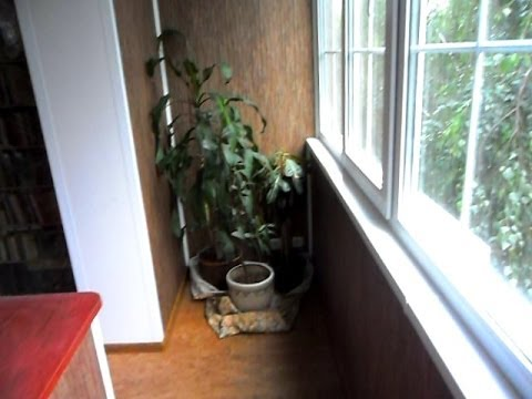 Максимус окна - отделка объединенного балкона - youtube.