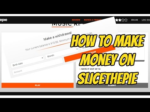 how to make money on slicethepie