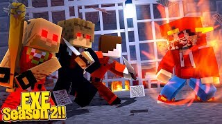 Minecraft .EXE 2.0 - ALFIE LANCASTER HAS CONTROL OF THE PRISON & ITS INMATES!!!