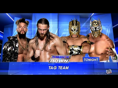 Thumbnail: WWE-2K16 -The Lucha Dragons vs Enzo Amore & Colin Cassady Tag Team Match| SmackDown 2016