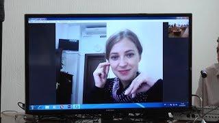 Встреча Натальи Поклонской со студентами ЛГАКИ имени М. Матусовского