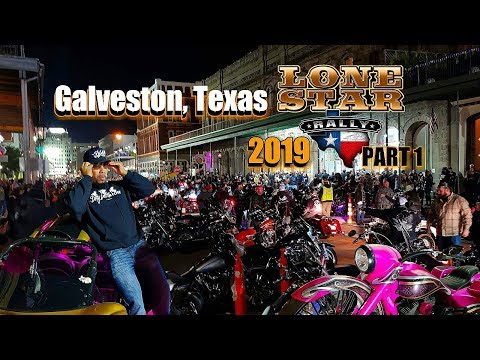 LoneStar Rally 2019 Galveston Texas (Part 1) Best Event Of The Year!!!