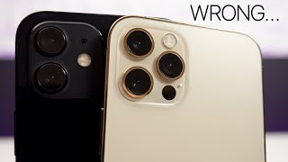 iPhone 12 vs iPhone 12 Pro After 40 Days - I was wrong..