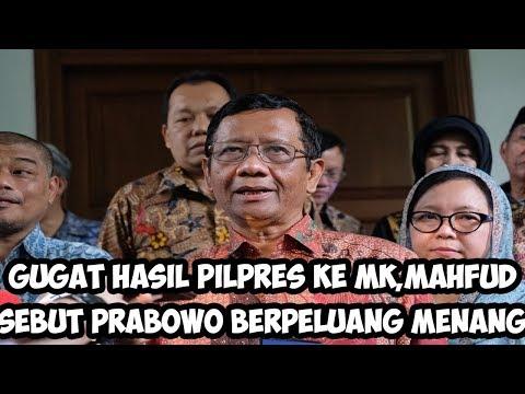 Gugat Hasil Pilpres ke MK, Mahfud MD Sebut Prabowo Berpeluang Menang Kalahkan Jokowi, Begini Caranya | Wonderdir Pilpres