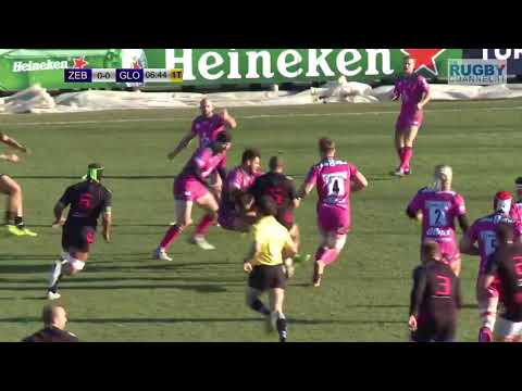 Challenge Cup   Zebre Rugby v Gloucester Rugby   Round 3 Pool 3