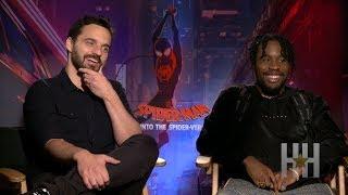 Jake Johnson & Shameik Moore Talk 'Spider-Man: Into The Spider-Verse'