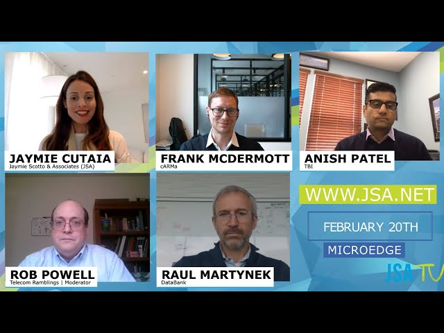 JSA Virtual Roundtable | Data Center, Telecom and Technology Forecasts for 2020
