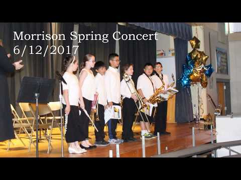 Morrison School - Spring Concert 2017 - Kaden Solo - Careless Whisper