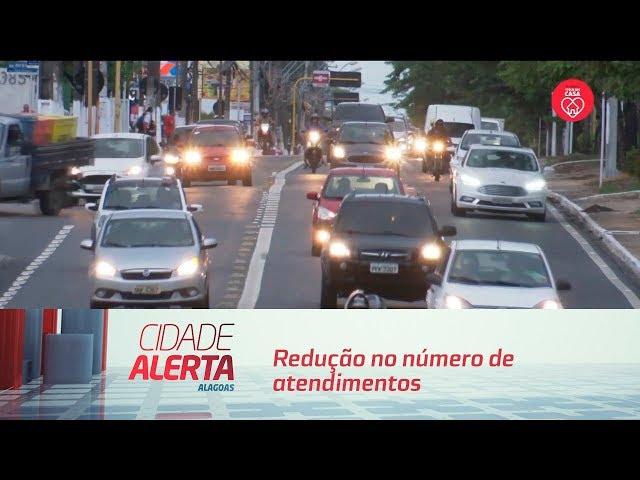 HGE registra redução no número de atendimentos a vítimas de acidentes de trânsito em AL