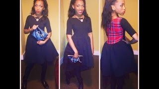 Diy: Skater Dress (teen Fashion)