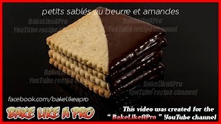 Easy Thin Crispy Almond Butter Cookies Recipe   Pate Sablee