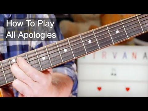 'All Apologies' Nirvana Unplugged Guitar Lesson