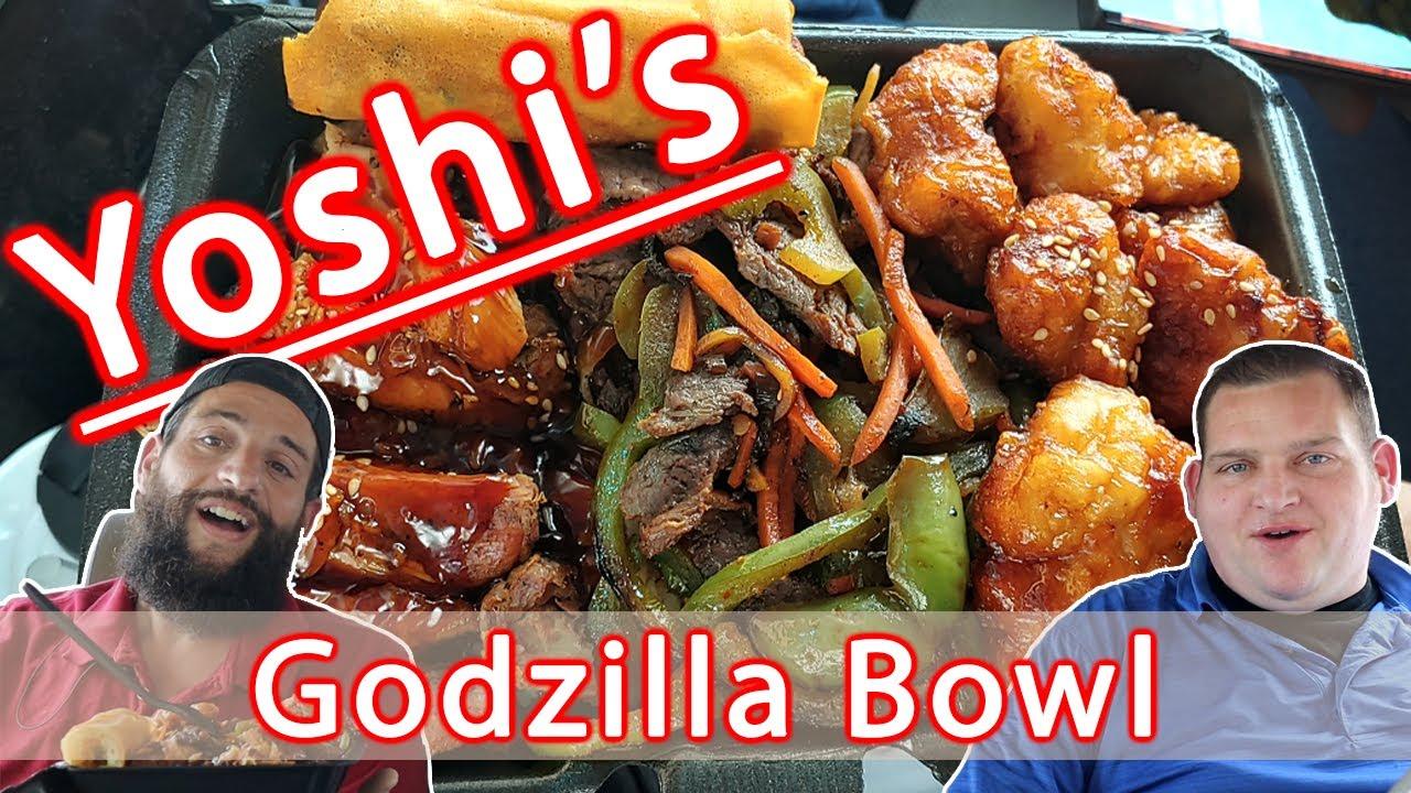 Yoshi's Godzilla Bowl