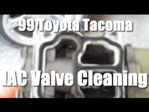 1999 Toyota Tacoma Iac Valve Cleaning Or Replacement Youtube