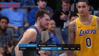 Los Angeles Lakers Vd Dallas Mavericks Nba Recap 2019 01 07