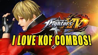 I LOVE KOF COMBOS! King Of Fighters XIV - Online Matches