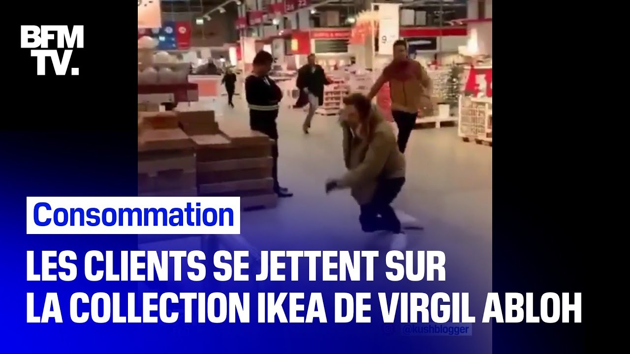 La Vente De La Collection Virgil Abloh Declenche Des Cohues Chez Ikea