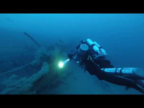 Steam Ship from the 19th century discovered by Red Sea Explorers