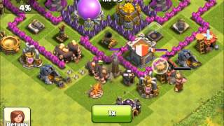 Clash of Clans - The power of healer in clan castle