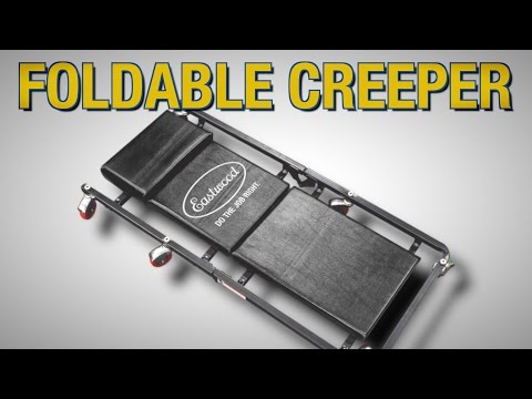 Automotive Foldable Creeper - Great For The Garage – Never Lie On The Floor Again! Eastwood