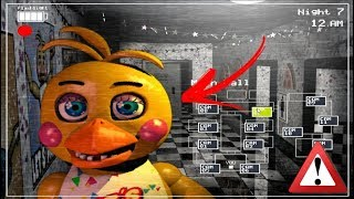 Chica with beak FNAF 2 (Mod) (Fan-game Fnaf) 2017