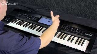Korg Krome Workstation Synthesizer Demonstration(, 2012-09-14T11:51:23.000Z)