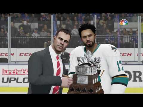 NHL® 17 Be a Pro: San Jose Sharks Stanley Cup Victory