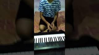Despacito song on key board
