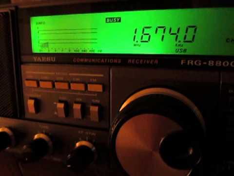 1674 Khz, Stockholm Radio, Sweden