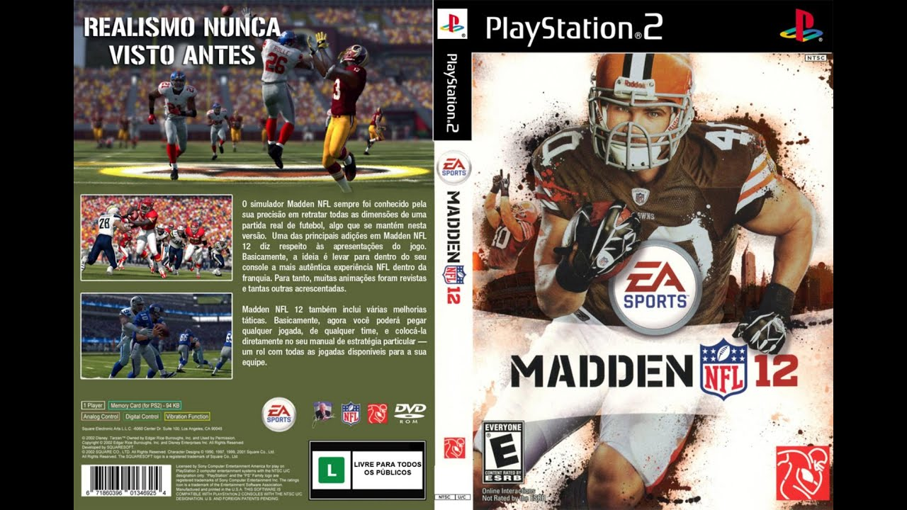 madden 12 ps2 2011 chi vs stl wk 1 youtube rh youtube com EA Sports Madden NFL 19 EA Sports Baseball