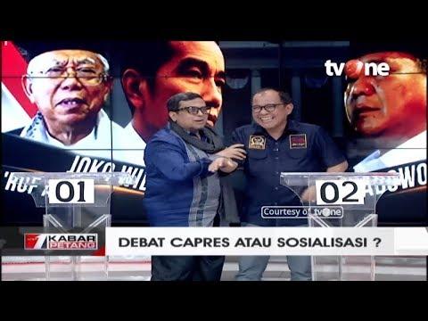 Debat Capres Atau Sosialisasi? (Akbar Faisal dan Haikal Hassan)