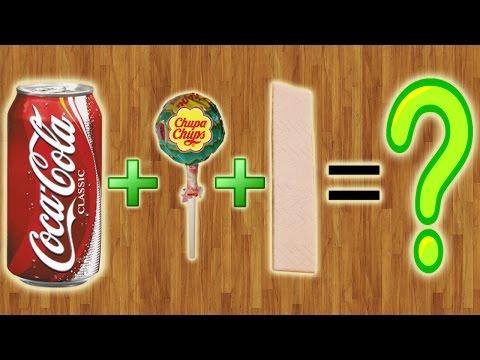 Что будет, если скрестить Coca-Cola, Чупа-Чупс и Жвачку???