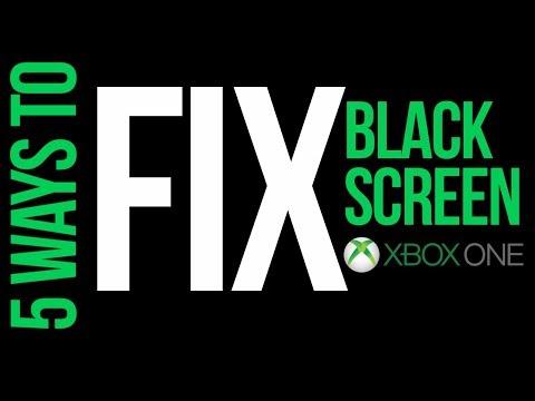 xbox-one-stuck-at-black-screen---fix-2019-|-xbox-one-s-|-black-screen-of-death