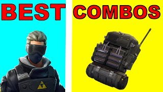 NEW VERGE SKIN - BACKBLING COMBOS! Meilleurs Combos De Peau BackBling (fr) Fortnite Battle Royale Saison 7