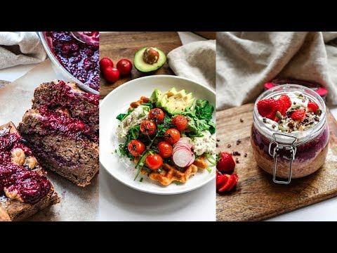 AMAZING Vegan Make-Ahead Breakfast! simple recipes