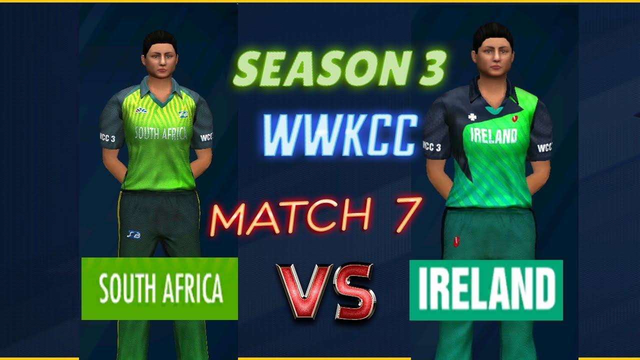 Quarter Final - South Africa vs Ireland - Season 3 | WWKCC - World Cricket Championship 3 WCC 3 Live