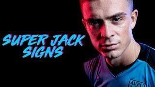Super Jack signs new contact: Grealish in focus