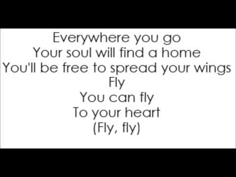 Selena Gomez - Fly To Your Heart (Lyrics)